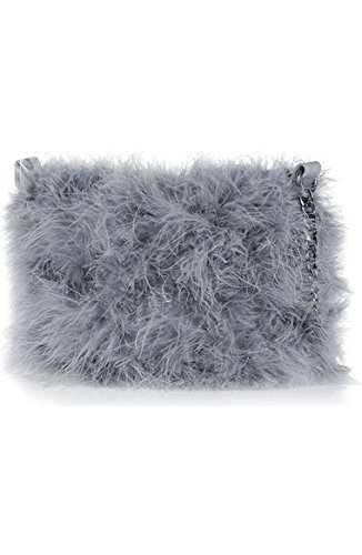 Topshop Faye Marabou Feather Bag
