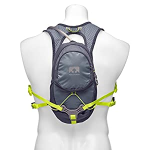 Nathan NS5025 Hpl Hydaration Running Backpack with 2L Bladder, BLUESTONE, Blue Stone
