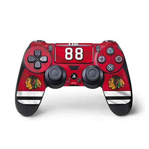 Skinit Chicago Blackhawks #88 Patrick Kane PS4 Pro/Slim Controller Skin - Officially Licensed NHL Players Gaming Decal - Ultra Thin, Lightweight Vinyl Decal Protection