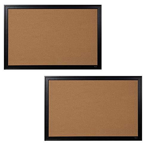 Quartet Corkboard, Framed Bulletin Board, 24