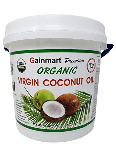 Gainmart Premium Organic Virgin Coconut Oil Highest Quality 1 Gallon