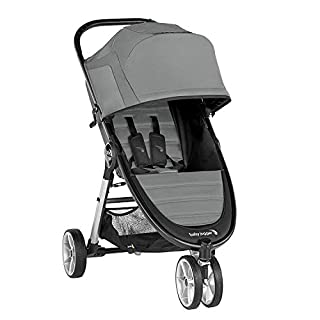 Baby Jogger City Mini 2 Stroller - 2019 | Compact, Lightweight Stroller | Quick Fold Baby Stroller, Slate