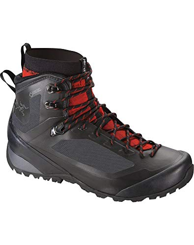 Arc'teryx Bora2 Mid Hiking Boot - Men's Black/Cajun 10