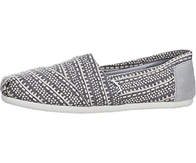 TOMS Women's Classic Tribal Jersey Loafers & Slip-Ons Shoe
