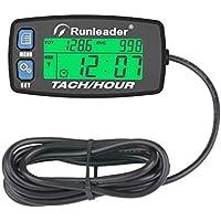 Contador de horas Runleader Tacómetro,Recordatorio de mantenimiento,RPM
