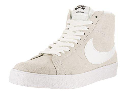 NIKE Blazer SB Premium SE Mens Skateboarding-Shoes 631042-100_11 - Summit White/Gum Light Brown/Black/White (Nike Sb Blazer Low Gt Ivory Gum)