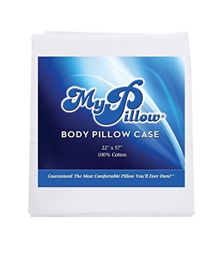 My Pillow Pillowcase (Body Pillow Case) 100% Egyptian Giza Cotton