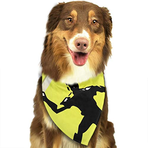 Pet Scarf Dog Bandana Bibs Triangle Head Scarfs Tennis Ball Player Accessories for Cats Baby Puppy]()