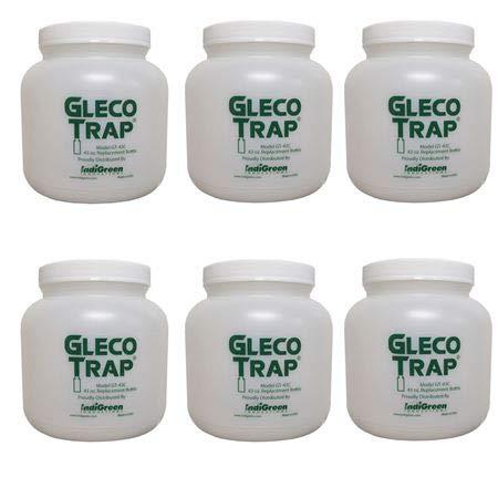 Trap Gleco (Gleco Plaster Trap Replacement Bottles, 43 oz. 6/cs)