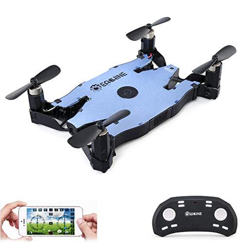 E57 WiFi FPV Selfie Drone con cámara de 2 MP 720P Auto plegable ...