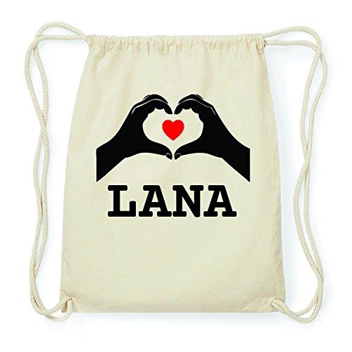 JOllify LANA Hipster Turnbeutel Tasche Rucksack aus Baumwolle - Farbe: natur Design: Hände Herz 8H30ovmi