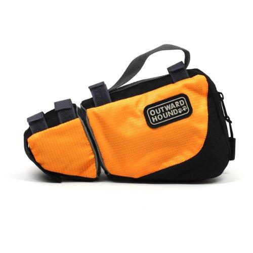 outward-hound-kyjen-2533-leash-mate-dog-leash-accessory-easy-attach-convenience-large-orange