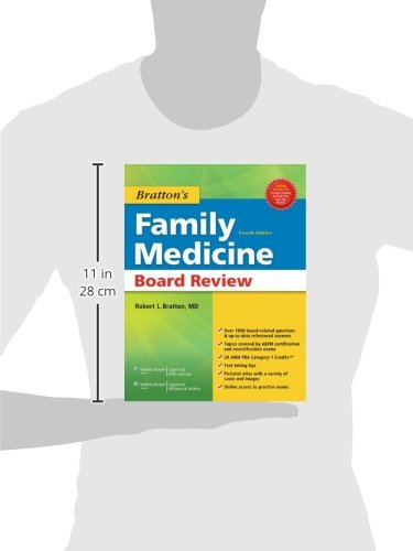 Bratton's Family Medicine Board Review - http://medicalbooks.filipinodoctors.org