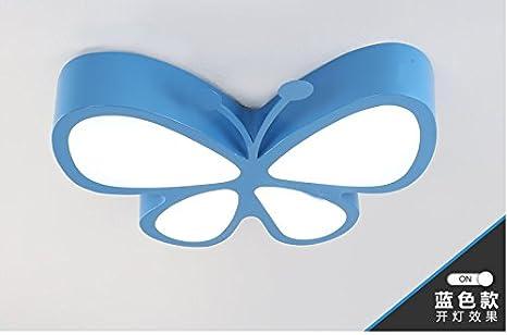 Animé Lustres De Led Papillon Plafond Lumière Suhang Enfants Dessin gyYbf7vIm6