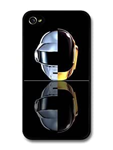 Accessories Daft Punk Double Helmet Mirrored Portrait case for iPhone 6 4.7