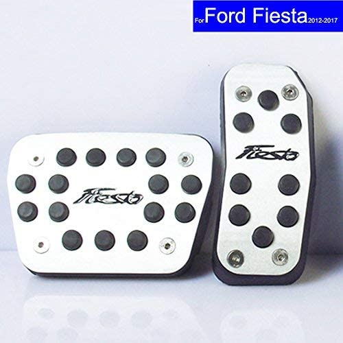 autosunshine Auto NEU Aluminium Legierung Kraftstoff Benzin Kupplung Bremse Bremsen Pad Fu/ß Pedale Rest Teller-Set