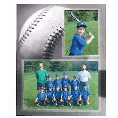 (BASEBALL Player/Team 7x5 3.50x5 MEMORY MATES cardstock double photo frame sold in 10's - 5x7)