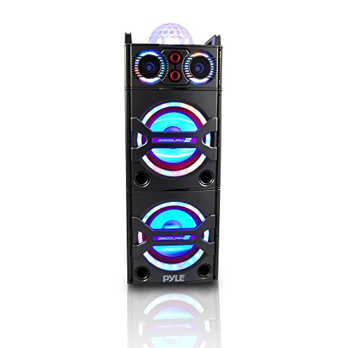 Pyle PSUFM1043BT Bluetooth PA Loudspeaker Karaoke Entertainment System, Wireless Mic by Pyle (Image #1)