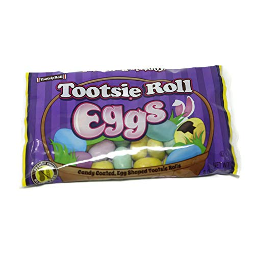 Tootsie Roll Eggs Candy Coated Egg Shaped Tootsie Rolls East