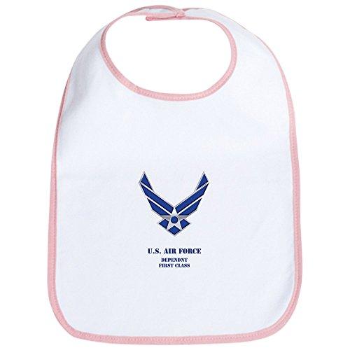 CafePress - U.S. AIR FORCE DEPENDENT Baby Bib - Cute Cloth Baby Bib, Toddler Bib ()