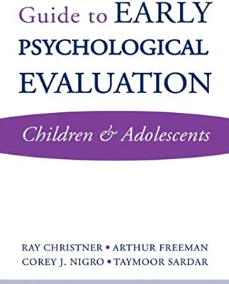 Psychological Evaluation | Amazon Com Guide To Early Psychological Evaluation Children