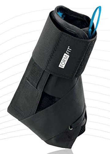 OSSUR Form Fit Foot Ankle Support Brace With SPEEDLACE Figure 8 Black M Ankle Cir 12-13″ (Former Gameday)