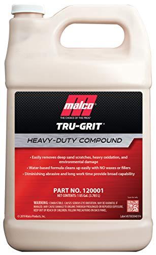 Malco Tru Grit, Heavy Duty Buffing Compound, 1 gal (120001)