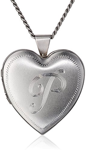 Heart-Shaped Rhodium-Plated Br