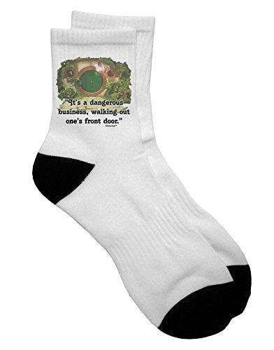TooLoud Dangerous Business Adult Short Socks Mens sz. 9-13