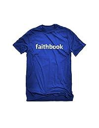 Indica Plateau Faithbook Christian Faith Mens T-shirt