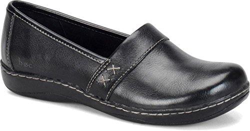 B.O.C Women's Howell black Leather Casual 9 B(M) US