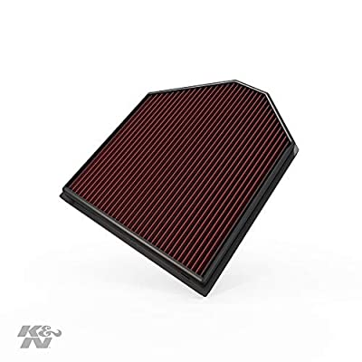 K&N Engine Air Filter: High Performance, Premium, Washable, Replacement Filter: 2011-2020 BMW (X4, X3, X3 sDrive20i, X3 xDrive20i, X3 xDrive 28i, X3 sDrive 18i, X3 20i), 33-2465: Automotive