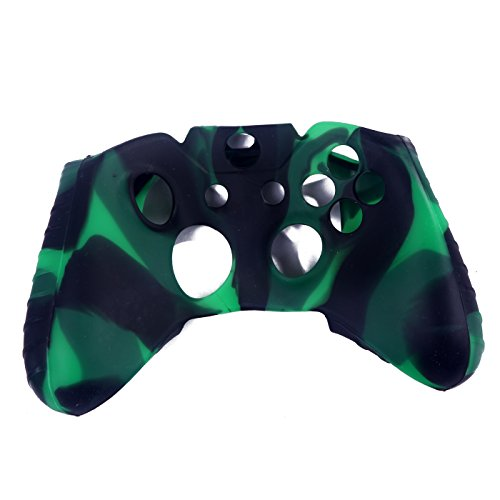 HDE-Xbox-One-Controller-Skin-Silicone-Rubber-Protective-Grip-Case-Cover-for-Microsoft-Xbox-1-Wireless-Gamepad-Camo