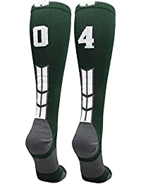 Player Id Jersey Number Socks Over The Calf Length Dark Green White