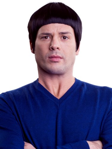 Enigma Wigs Men's Spaceman, Black, One Size by Enigma Wigs (Image #1)