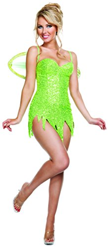 Starline Women's Texas Hold Her Costume, Black/Red, X-Large