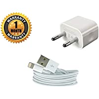 BLAST INN Fast Charging Adapter with USB Cable for all Apple iPhone(White)