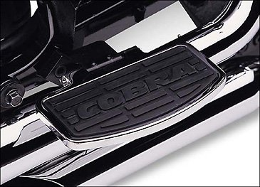 - Cobra 06-07 Kawasaki VN2000F Passenger Floorboards (Standard) (Chrome)