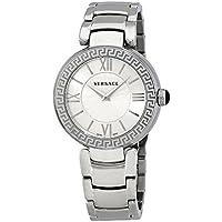 Versace Leda Silver Dial Ladies Watch