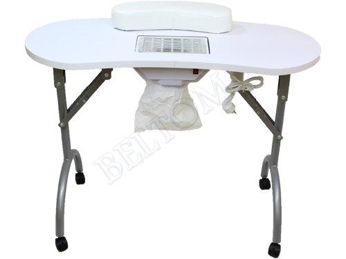 Tavolo Da Lavoro Per Estetista : Tavolo manicure professionale pieghevole con aspiratore polveri e
