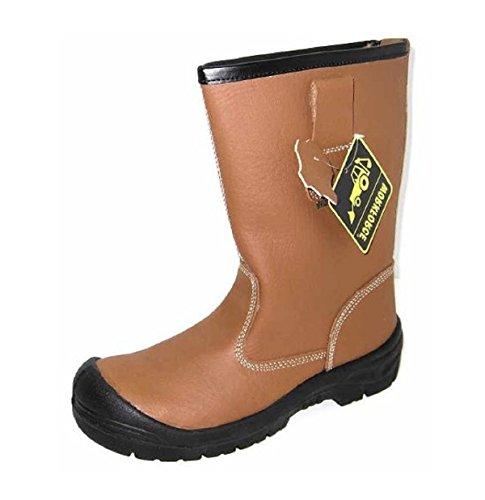 Workforce  Wf23p, Chaussures de sécurité pour homme Marron marron
