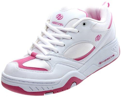 Heelys Fizz - Zapatillas de tela para mujer blanco blanco, color blanco, talla 40: Amazon.es: Zapatos y complementos