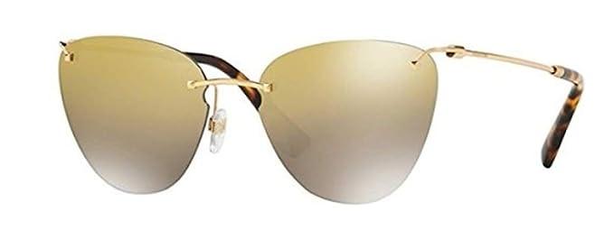 Valentino Gafas de Sol VA 2022 GOLD/GOLD SHADED mujer ...