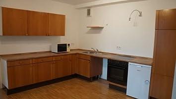 Küche Mit Retro Kühlschrank : Einbauküche von der firma leicht in schleswig holstein