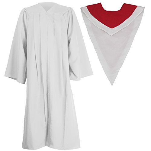 Ivyrobes Unisex Classic Matte Choir Robe&Stoles Package W...