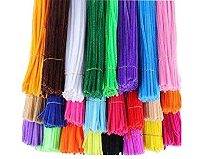 amazon com honeytoys 240pcs 24 colors creative pipe cleaners