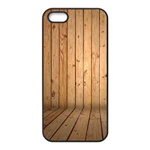 Cool Painting Wood Print Use Your Own Image Phone Case for Iphone 5,5S,customized case cover case-294625