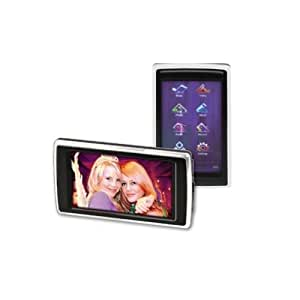 "Trevi TSV 1950 SD 4GB - Reproductor MP3 (Flash-media, 4 GB, microSD (TransFlash), LCD, 76.2 mm (3 ""), APE, FLAC, MP3, OGG, WMA) Negro"