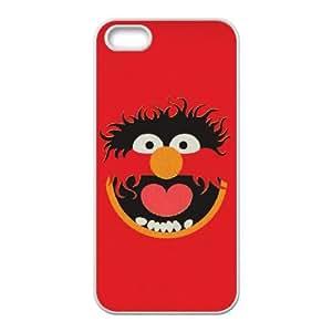 The Muppets Animal 004 funda iPhone 4 4S Cubierta blanca del teléfono celular de la cubierta del caso funda EVAXLKNBC14186