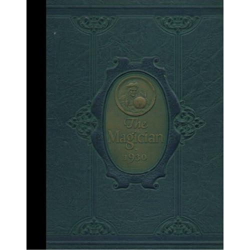 (Reprint) 1930 Yearbook: Muncie Central High School, Muncie, Indiana Muncie Central High School 1930 Yearbook Staff